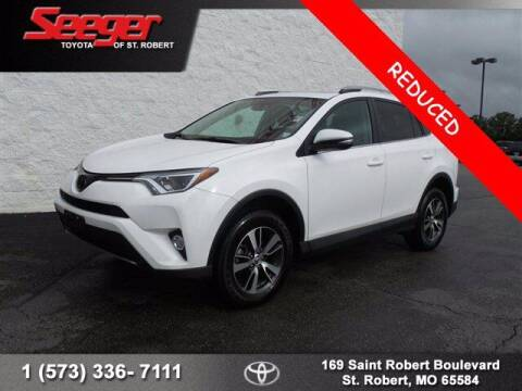 2018 Toyota RAV4 for sale at SEEGER TOYOTA OF ST ROBERT in St Robert MO
