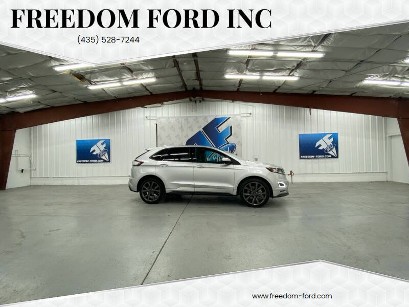 2018 Ford Edge for sale at Freedom Ford Inc in Gunnison UT