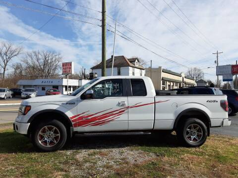 2012 Ford F-150 for sale at Bates Auto & Truck Center in Zanesville OH