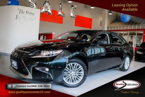 2017 Lexus ES 350 for sale at Quality Auto Center of Springfield in Springfield NJ