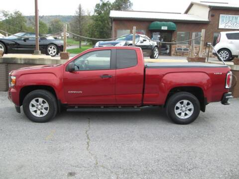 2015 GMC Canyon for sale at WORKMAN AUTO INC in Pleasant Gap PA