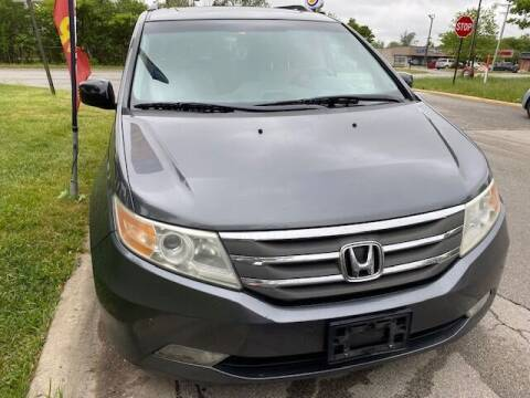 2012 Honda Odyssey for sale at NORTH CHICAGO MOTORS INC in North Chicago IL