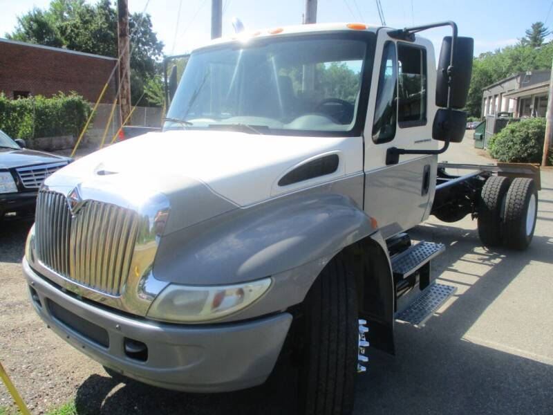 2002 International 4300 for sale at Lynch's Auto - Cycle - Truck Center in Brockton MA