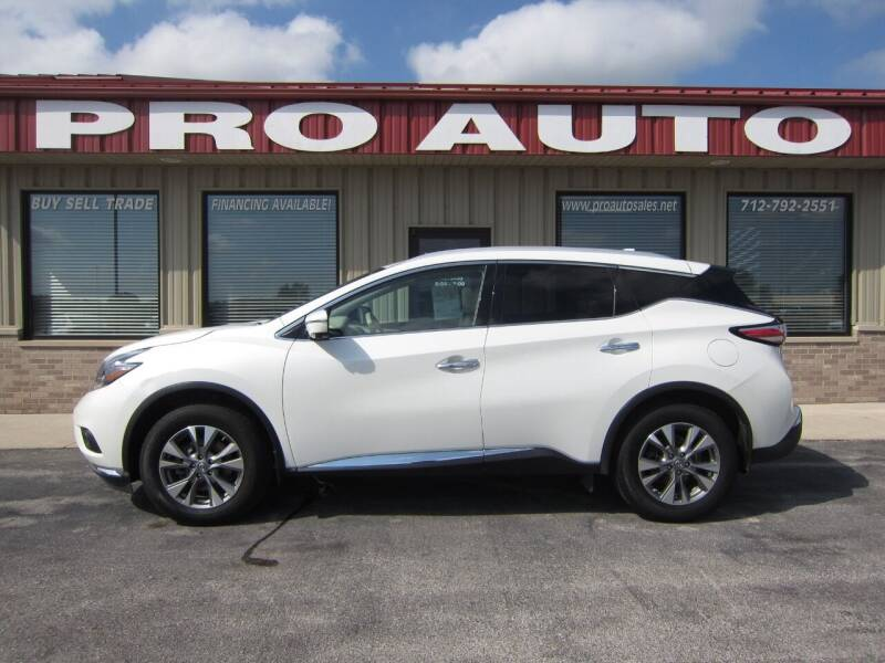 2018 Nissan Murano for sale at Pro Auto Sales in Carroll IA