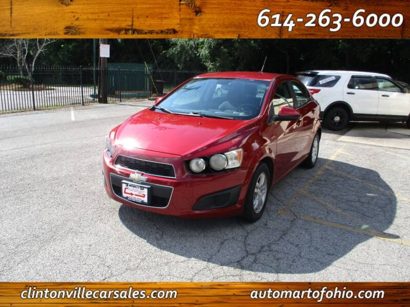 2013 Chevrolet Sonic for sale at Clintonville Car Sales - AutoMart of Ohio in Columbus OH