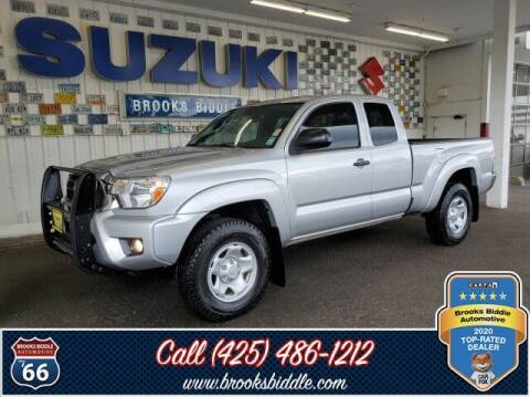 2012 Toyota Tacoma for sale at BROOKS BIDDLE AUTOMOTIVE in Bothell WA