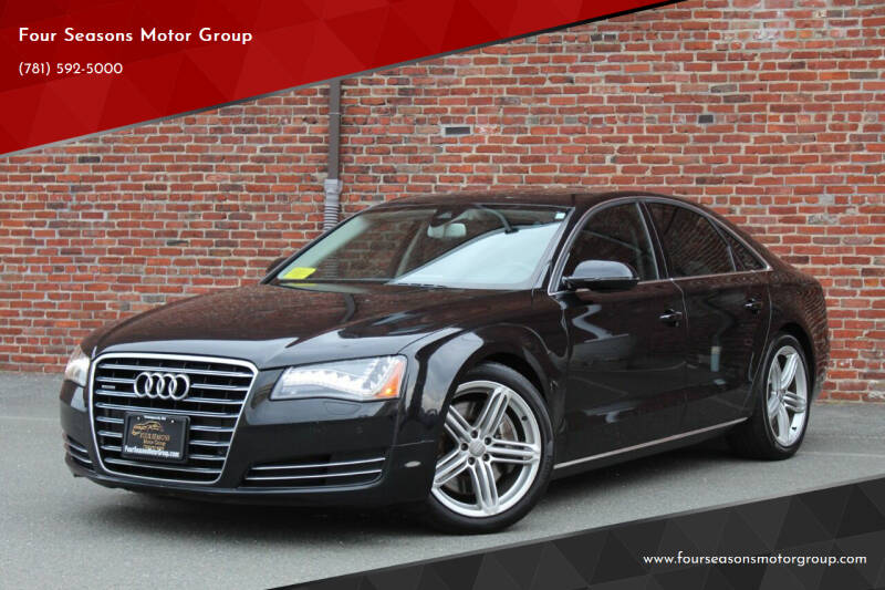 2013 Audi A8 for sale at Four Seasons Motor Group in Swampscott MA