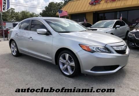 2014 Acura ILX for sale at AUTO CLUB OF MIAMI, INC in Miami FL