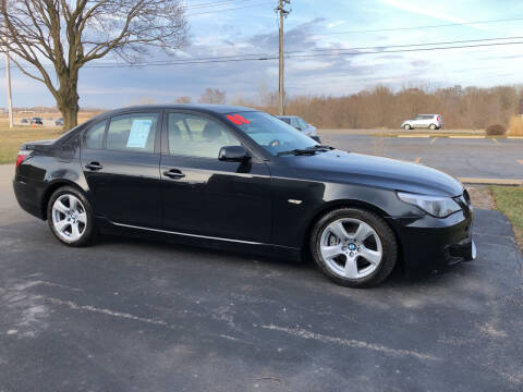 2008 BMW 5 Series for sale at Fox Valley Motorworks in Lake In The Hills IL