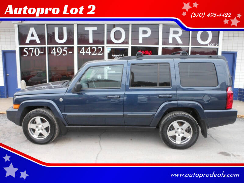2009 Jeep Commander for sale at Autopro Lot 2 in Sunbury PA
