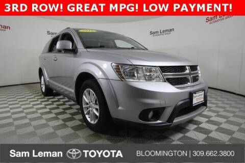 2016 Dodge Journey for sale at Sam Leman Toyota Bloomington in Bloomington IL