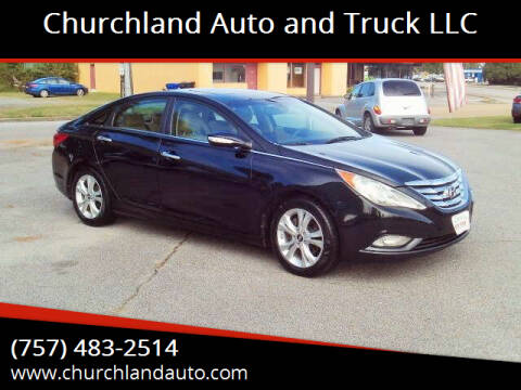 2013 Hyundai Sonata for sale at Churchland Auto and Truck LLC in Portsmouth VA