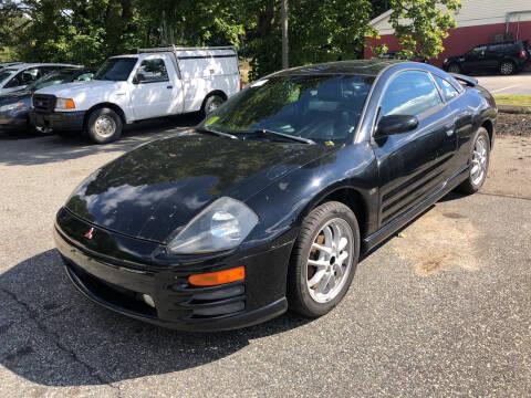 2001 Mitsubishi Eclipse for sale at Barga Motors in Tewksbury MA