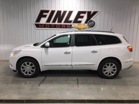2017 Buick Enclave for sale at Finley Motors in Finley ND