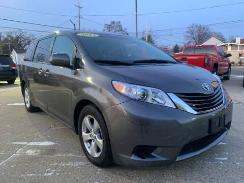 2015 Toyota Sienna for sale at Auto Gallery LLC in Burlington WI