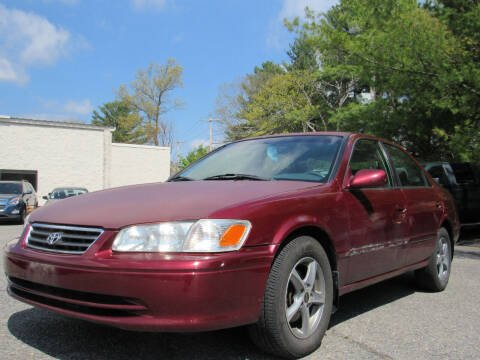 2001 Toyota Camry for sale at Advanced Auto Sales in Tewksbury MA