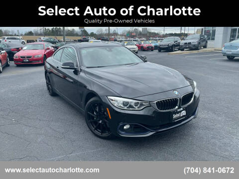 2016 BMW 4 Series for sale at Select Auto of Charlotte in Matthews NC