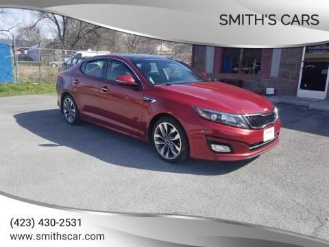 2015 Kia Optima for sale at Smith's Cars in Elizabethton TN