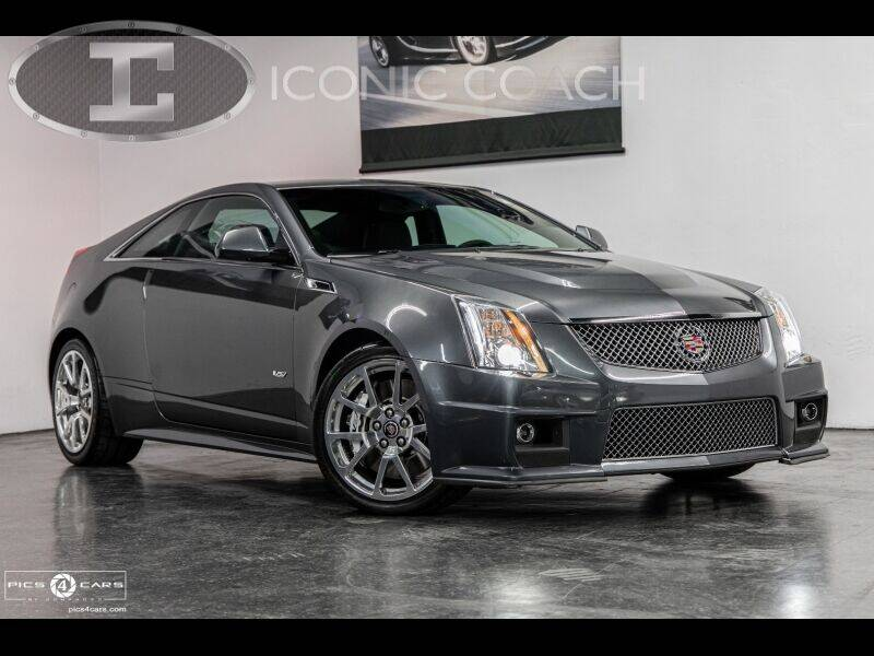 2011 Cadillac CTS-V for sale at Iconic Coach in San Diego CA