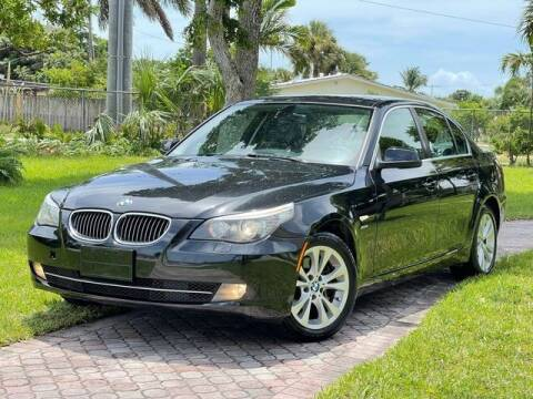 2010 BMW 5 Series for sale at Citywide Auto Group LLC in Pompano Beach FL