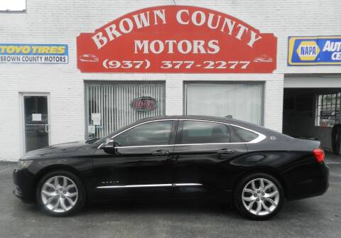 2014 Chevrolet Impala for sale at Brown County Motors in Russellville OH