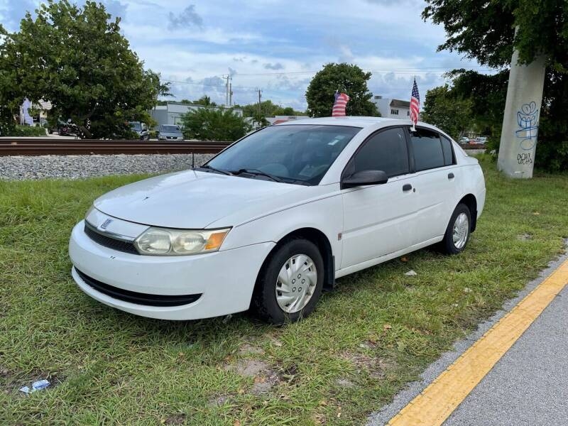 2003 Saturn Ion for sale at WRD Auto Sales in Hollywood FL