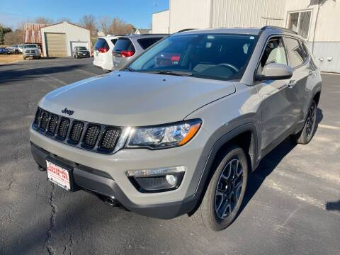 2019 Jeep Compass for sale at Louisburg Garage, Inc. in Cuba City WI