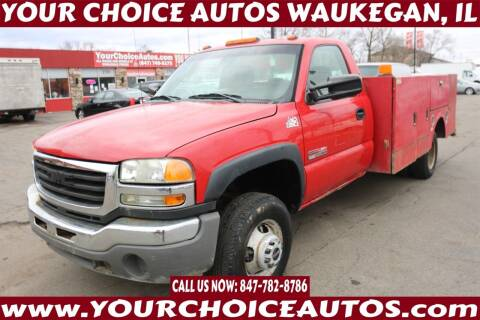 2005 GMC Sierra 3500 for sale at Your Choice Autos - Waukegan in Waukegan IL