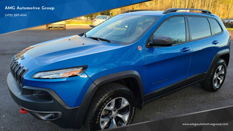 2017 Jeep Cherokee for sale at AMG Automotive Group in Cumming GA