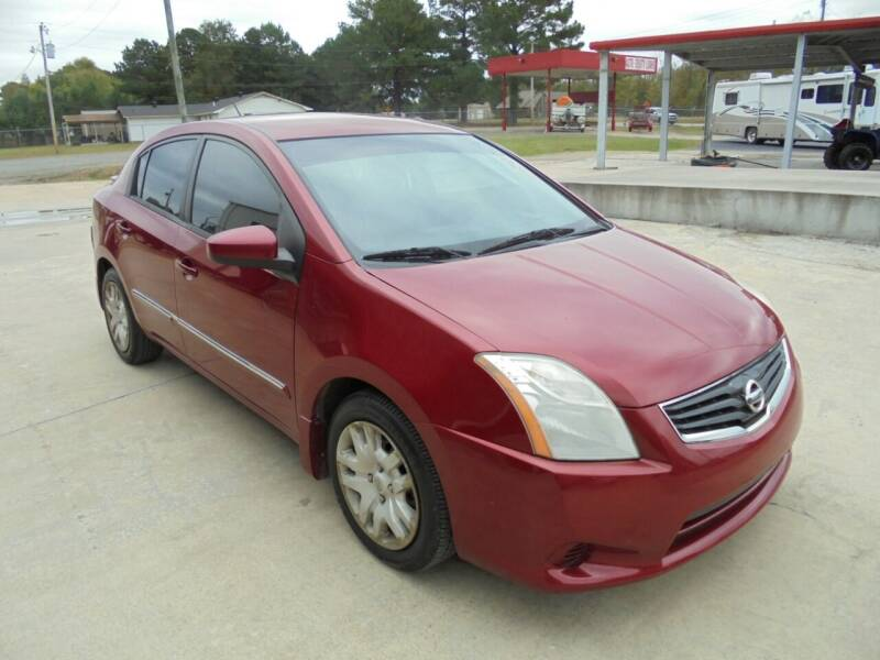 2012 Nissan Sentra for sale at US PAWN AND LOAN in Austin AR