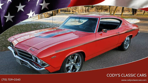 1969 Chevrolet Chevelle Malibu for sale at Cody's Classic Cars in Stanley WI