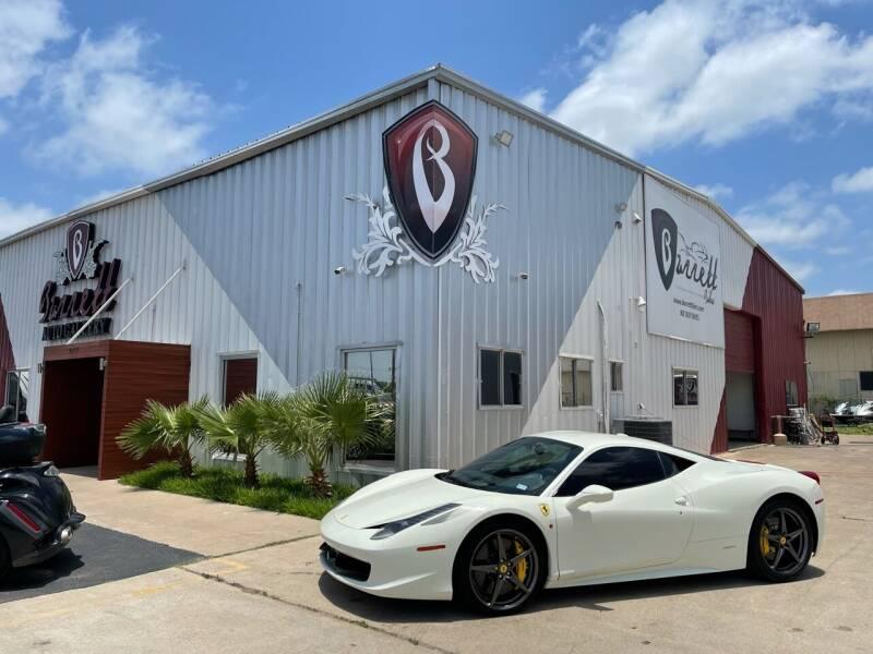 2015 Ferrari 458 Italia for sale at Barrett Auto Gallery in San Juan TX