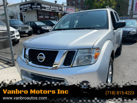 2010 Nissan Pathfinder for sale at Vanbro Motors Inc in Staten Island NY