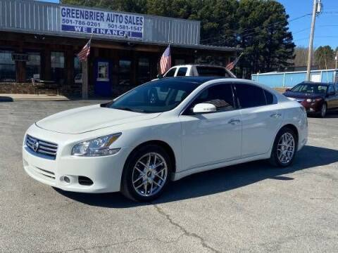 2014 Nissan Maxima for sale at Greenbrier Auto Sales in Greenbrier AR