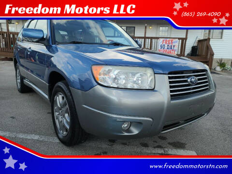 2007 Subaru Forester for sale at Freedom Motors LLC in Knoxville TN