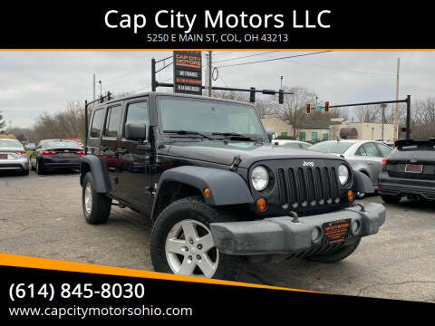 2008 Jeep Wrangler Unlimited for sale at Cap City Motors LLC in Columbus OH