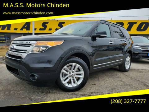 2013 Ford Explorer for sale at M.A.S.S. Motors Chinden in Garden City ID