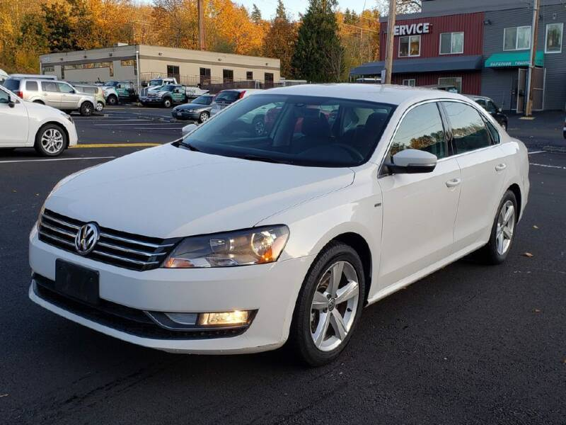 2015 Volkswagen Passat for sale at Halo Motors in Bellevue WA