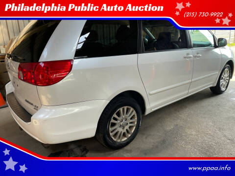 2008 Toyota Sienna for sale at Philadelphia Public Auto Auction in Philadelphia PA