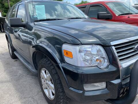 2010 Ford Explorer for sale at BULLSEYE MOTORS INC in New Braunfels TX
