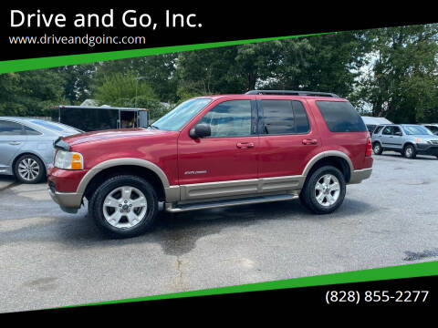 2004 Ford Explorer for sale at Drive and Go, Inc. in Hickory NC