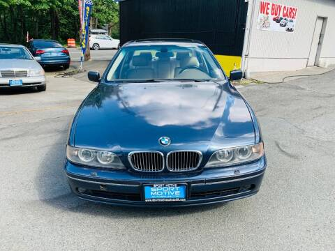 2003 BMW 5 Series for sale at Sport Motive Auto Sales in Seattle WA