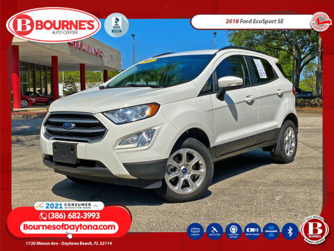 2018 Ford EcoSport for sale at Bourne's Auto Center in Daytona Beach FL