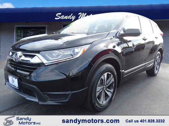 2017 Honda CR-V for sale at Sandy Motors Inc in Coventry RI