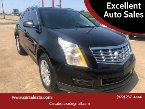 2013 Cadillac SRX for sale at Excellent Auto Sales in Grand Prairie TX