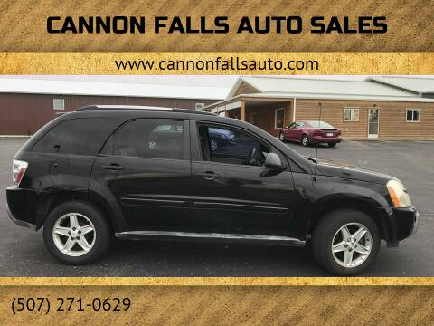 2005 Chevrolet Equinox for sale at Cannon Falls Auto Sales in Cannon Falls MN