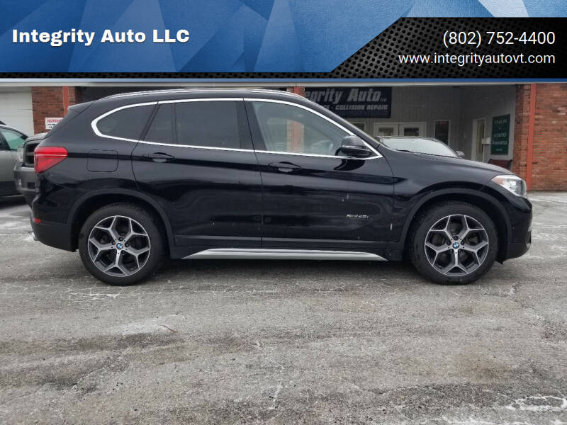 2016 BMW X1 for sale at Integrity Auto LLC - Integrity Auto 2.0 in St. Albans VT