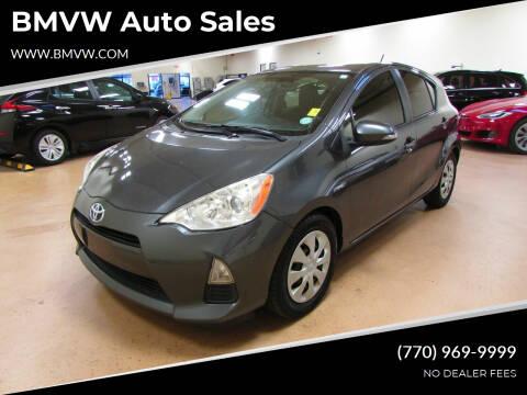 2013 Toyota Prius c for sale at BMVW Auto Sales - Hybrids in Union City GA