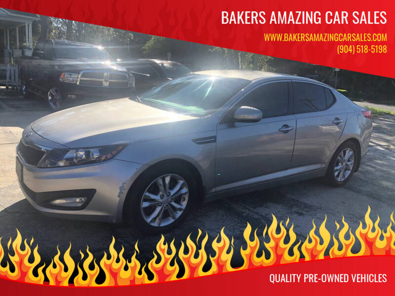 2013 Kia Optima for sale at Bakers Amazing Car Sales in Jacksonville FL