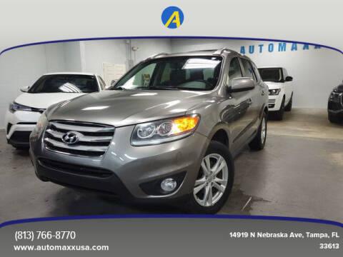 2012 Hyundai Santa Fe for sale at Automaxx in Tampa FL